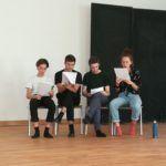 Marie Bloching, Konstantin Gries, Valentin Mirwo, Mathilda Dolle