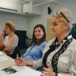 Ruth Zapf, Barbara te Kock, Vernesa Berbo