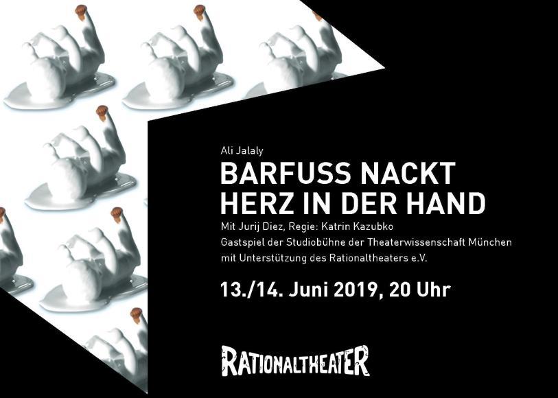Studiobühne twm: Barfuss Nackt Herz in der Hand