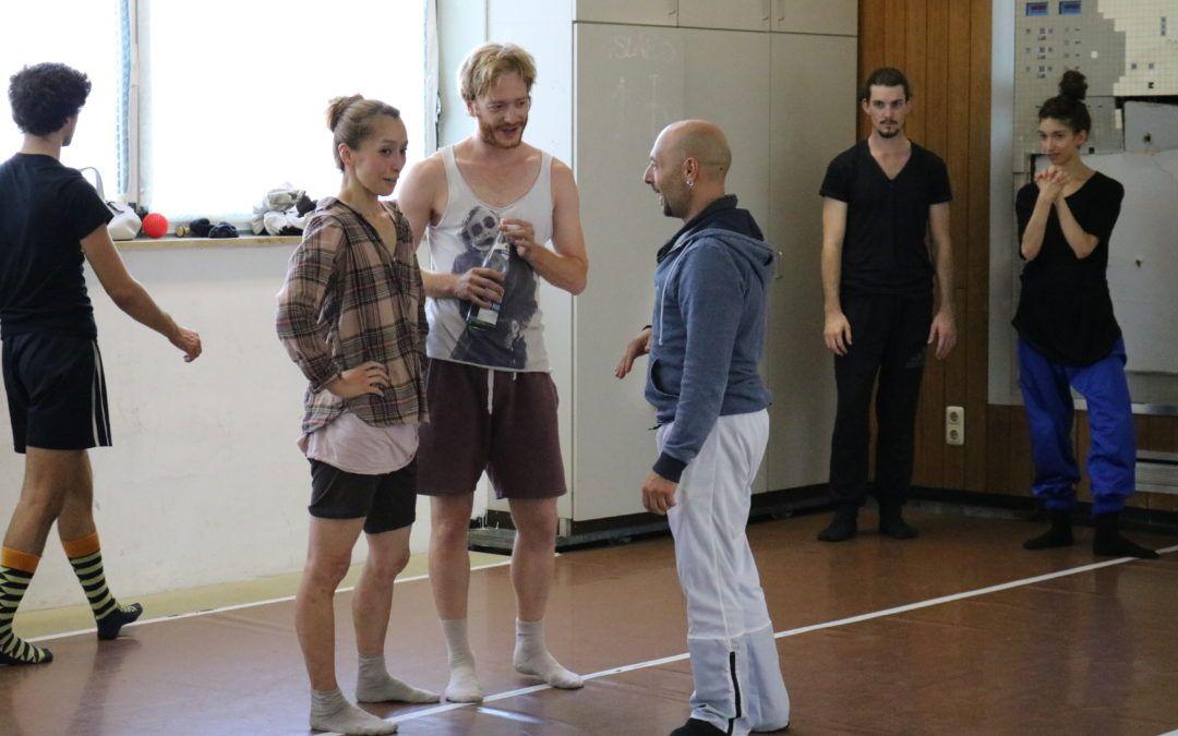 Öffentliche Proben // Posterino Dance Company